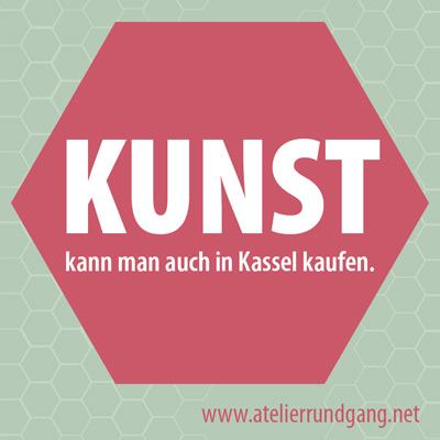 KUNST kann man auch in Kassel kaufen.